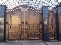Кованые ворота и калитки по индивидуальному заказу