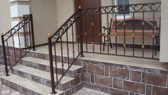 Кованые перила, балконы, лестницы