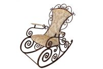 Кованые кресла-качалки
