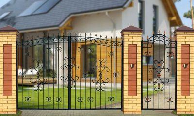 Кованые ворота Х-13