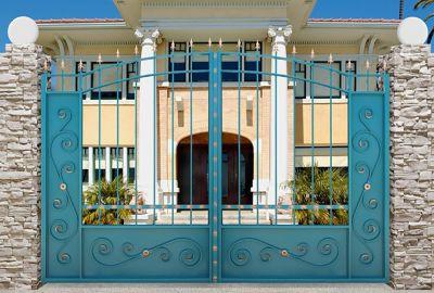 Кованые ворота Х-17