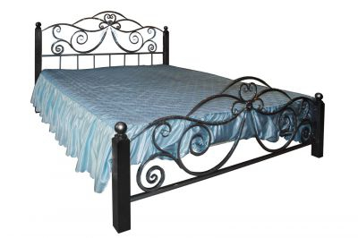 Кованая Кровать Х-09