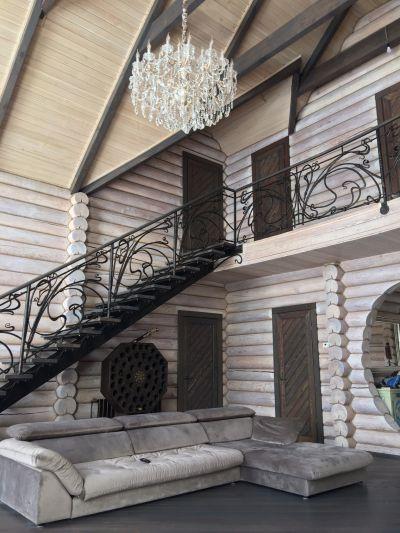 Кованая лестница Г-02