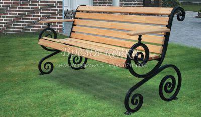 Кованая скамейка Х-03