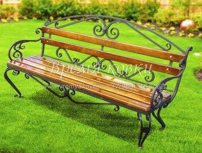 Кованая скамейка Х-06