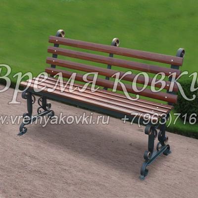 Кованая скамейка Х-10