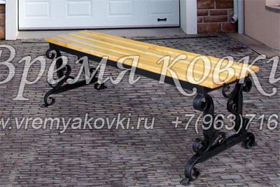 Кованая скамейка Х-11