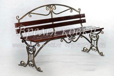 Кованая скамейка Х-12