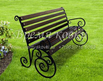 Кованая скамейка Х-15
