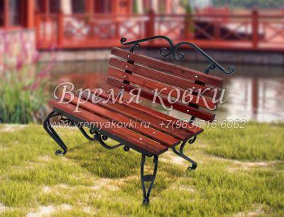 Кованая скамейка Х-17