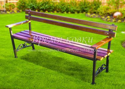 Кованая скамейка Х-21