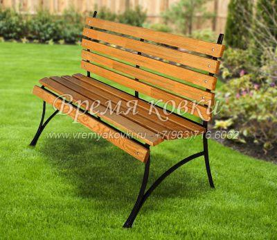 Кованая скамейка Х-26