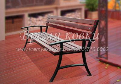 Кованая скамейка Х-31