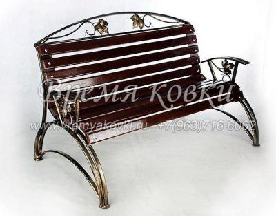Кованая скамейка Х-32
