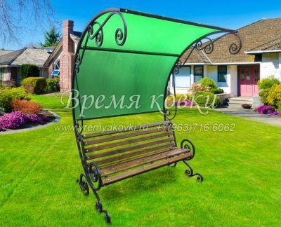 Кованая скамейка Х-35