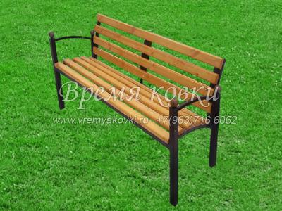 Кованая скамейка Х-37