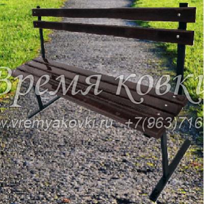 Кованая скамейка Х-38