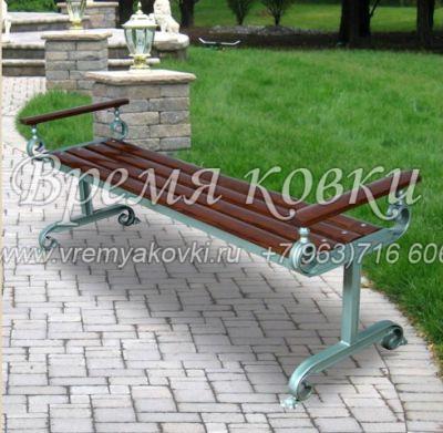Кованая скамейка Х-41