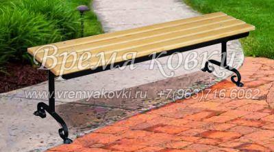Кованая скамейка Х-44
