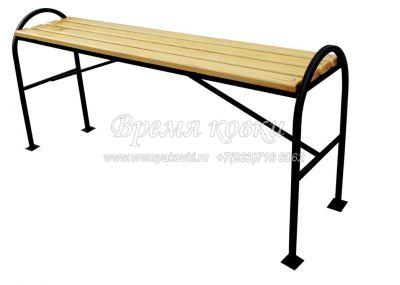 Кованая скамейка Х-45