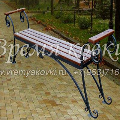 Кованая скамейка Х-48