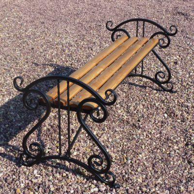 Кованая скамейка Х-49
