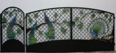 Ворота и калитки Л-02