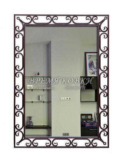 Кованое зеркало Х-07