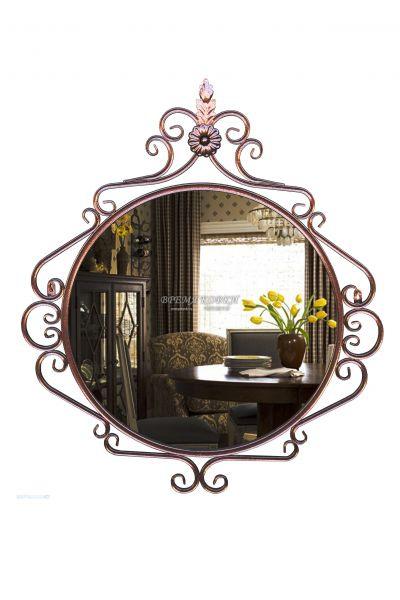 Кованое зеркало Х-10