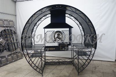 Мангал кованый Х-40