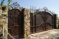 Кованые ворота по индивидуальному заказу Г-02