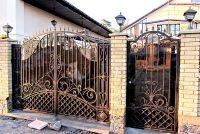 Кованые ворота по индивидуальному заказу Г-05