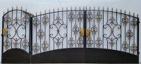 Кованые ворота Х-11