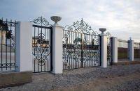 Кованые ворота Х-18