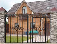 Кованые ворота Х-03