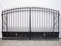 Кованые ворота Х-07