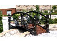 Кованый мостик по индивидуальному заказу Г-06