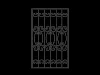 Кованая решетка Х-10