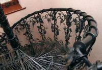 Кованая лестница Г-06