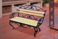 Кованая скамейка Х-07