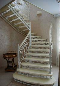 Кованая лестница Г-08