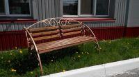 Кованая скамейка Х-14