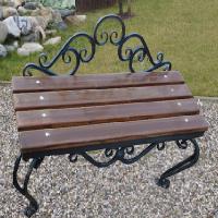 Кованая скамейка Х-16