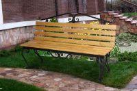 Кованая скамейка Х-18