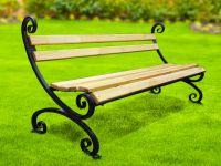 Кованая скамейка Х-24