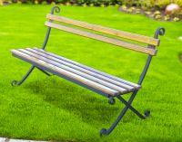 Кованая скамейка Х-25