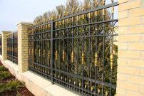 Кованый забор по индивидуальному заказу Г-02