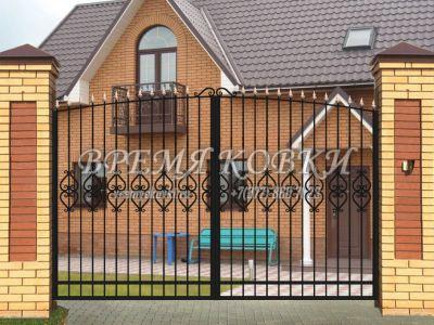 Кованые ворота Х-12