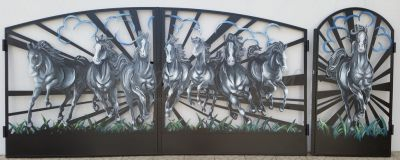 Ворота и калитки Л-01